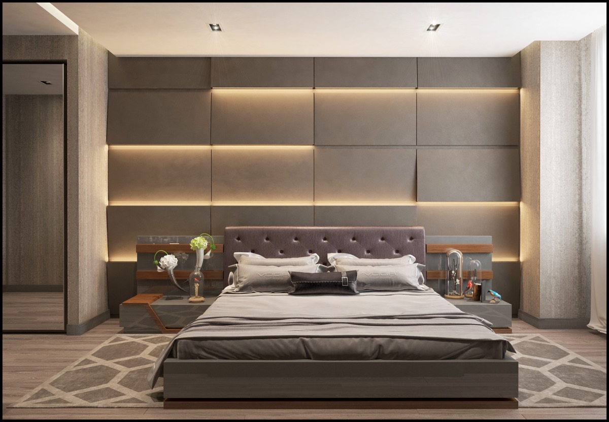 Modern Double Bedroom Designs - Awesome Decors