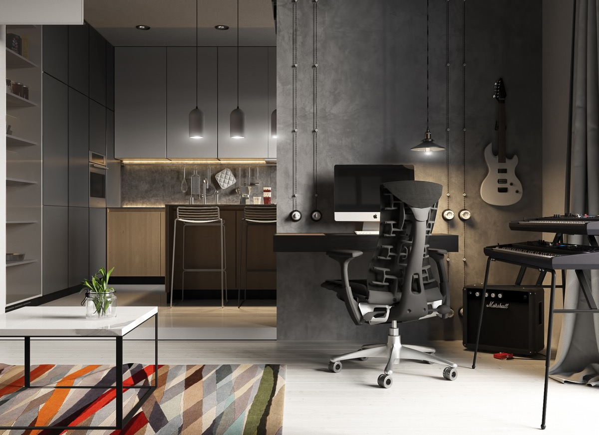 modern-industrial-home-office