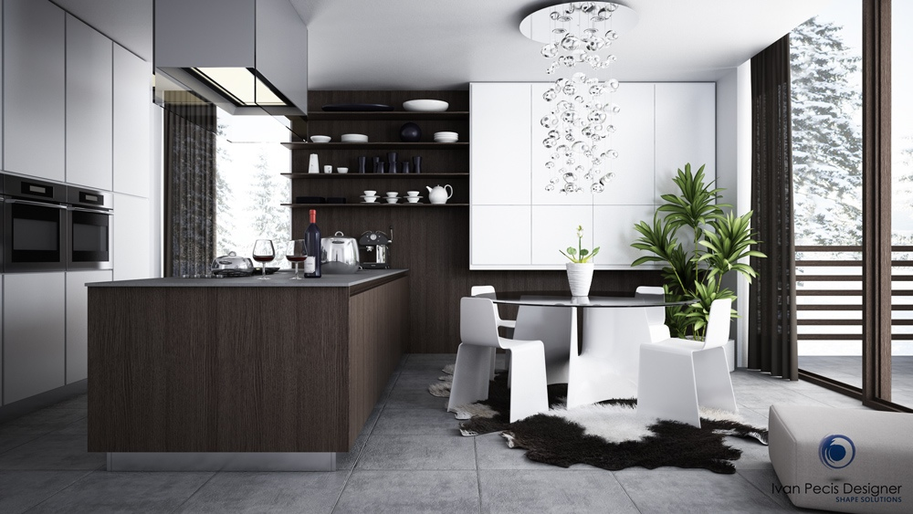 modern-kitchen-with-dining-area