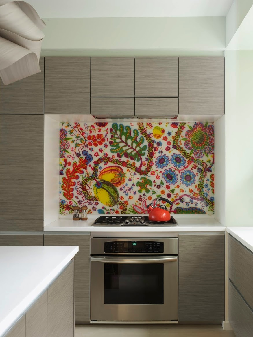 multicolored-mosaic-backsplash