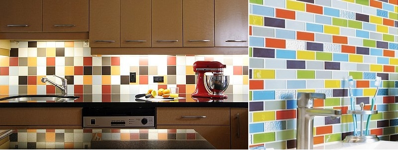 mutlitcolored-subway-tile-backsplash