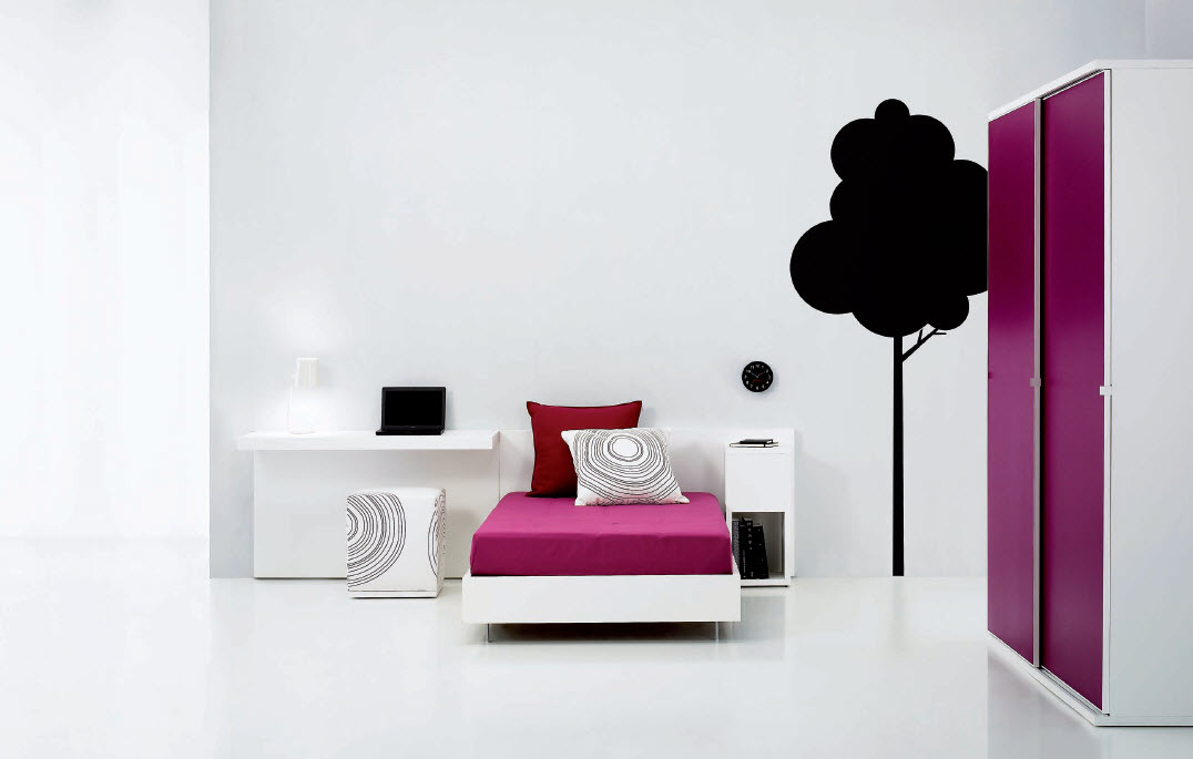 nice-purple-teen-room