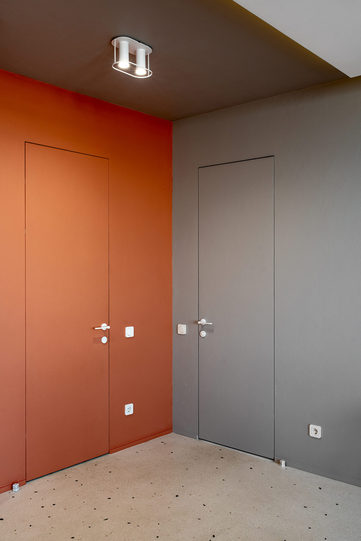 orange-and-grey-decor