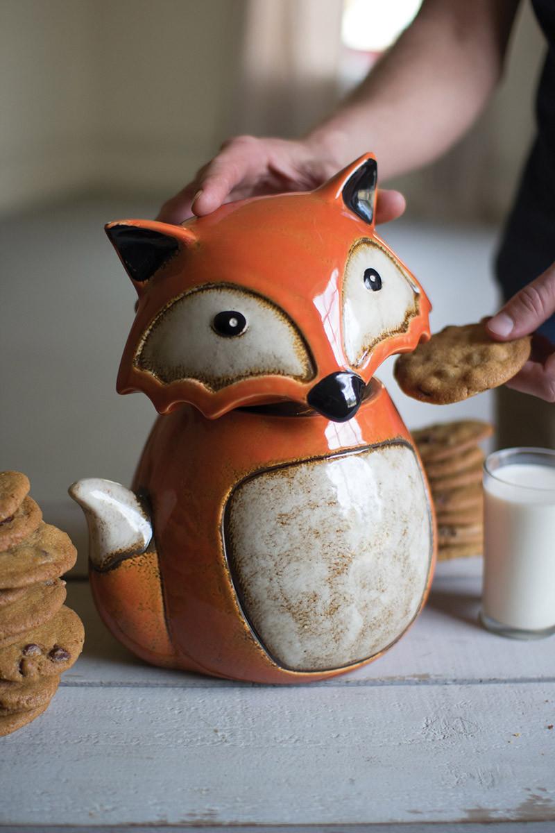 orange-and-white-fox-large-cookie-jar