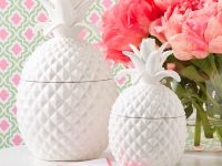 pineapple-white-textured-cookie-jars-for-sale