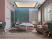 pink-and-brown-bedroom