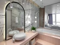 pink-and-monochrome-bathroom