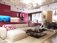 pink-living-room-cushions