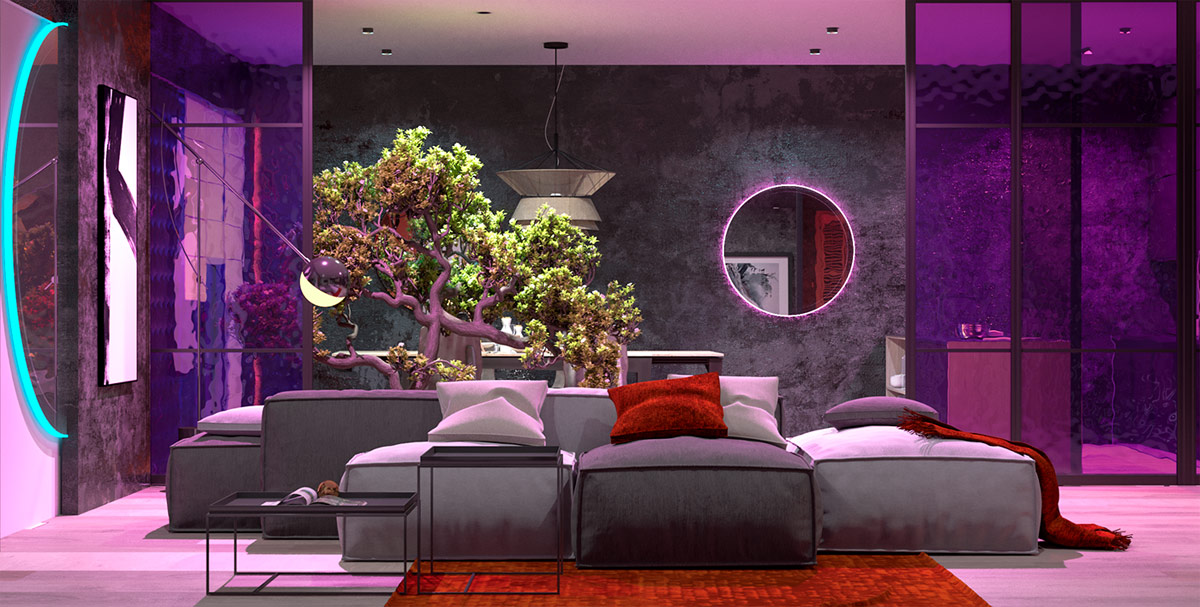 purple-and-red-interior