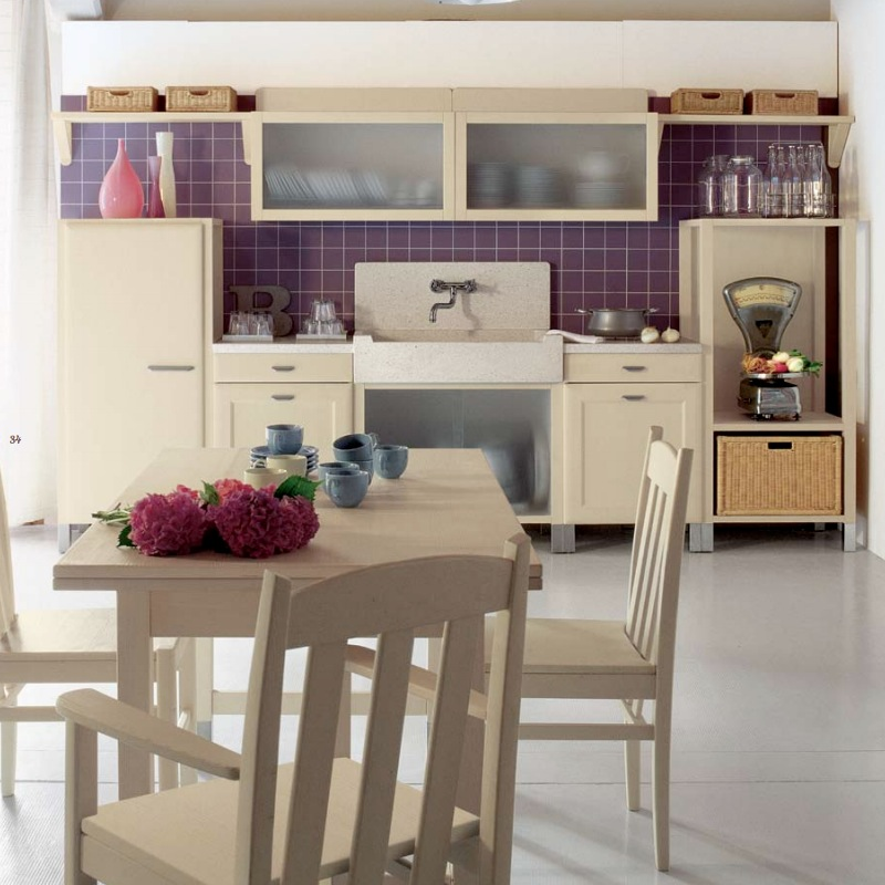 purple-tile-accents-in-country-kitchen