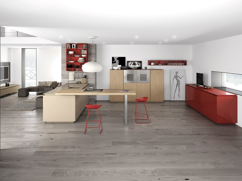 red-cabinetry