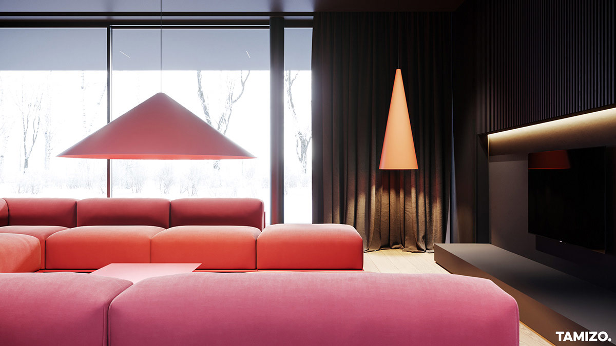 red-living-room-decor