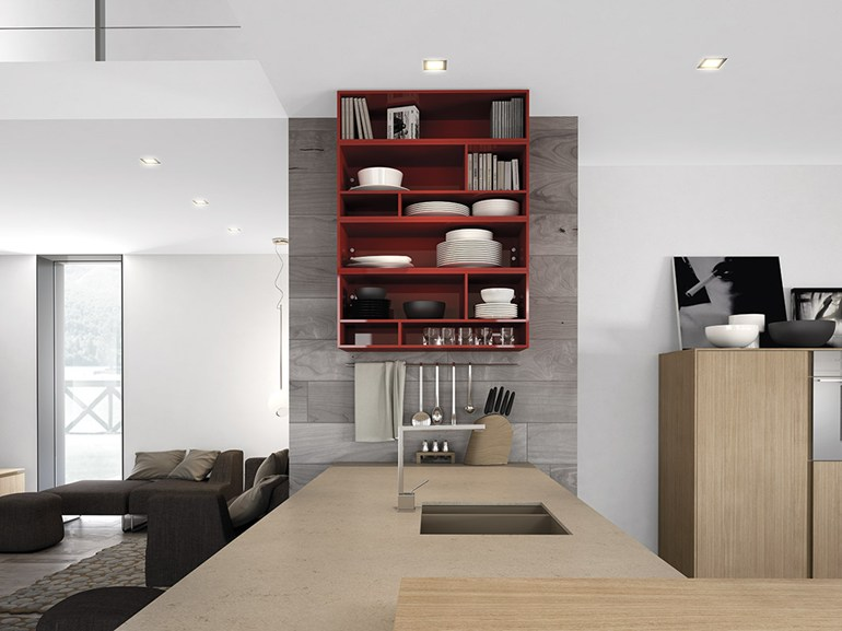 red-shelving