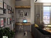rustic-industrial-home-office