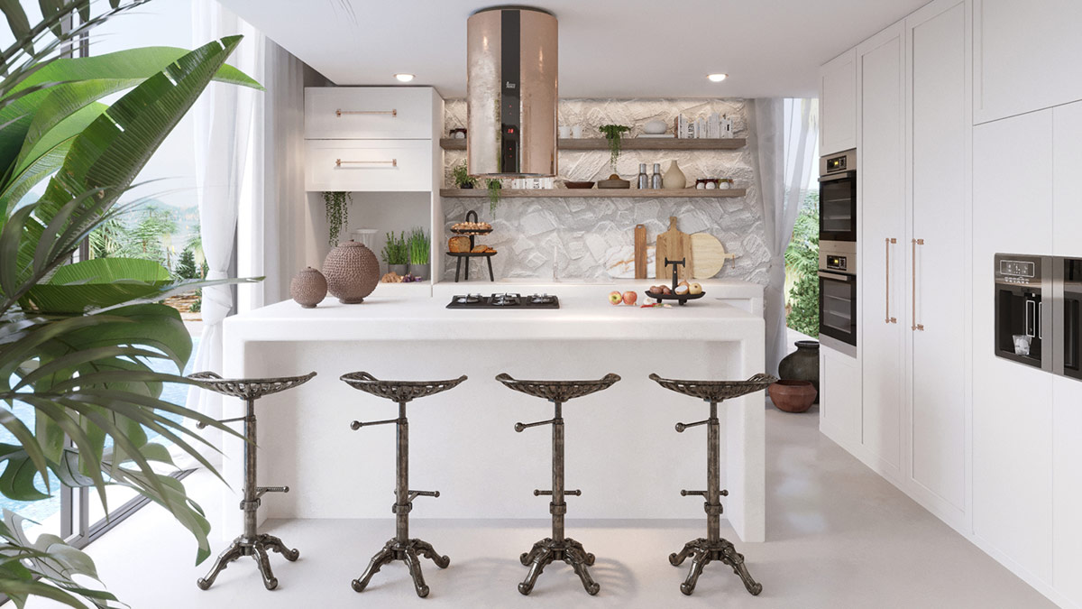 rustic-kitchen-bar-stools