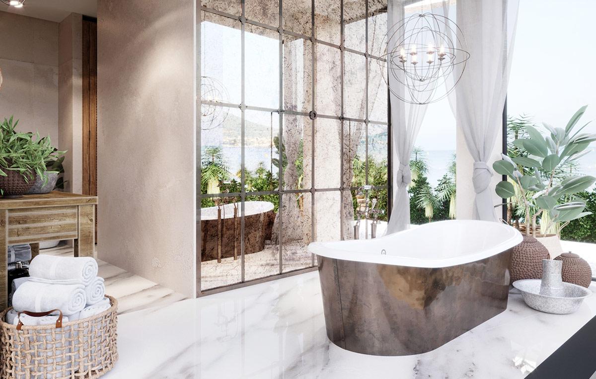 rustic-style-bath
