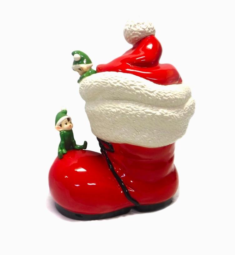 santa-claus-boot-with-elf-cute-cookie-jars