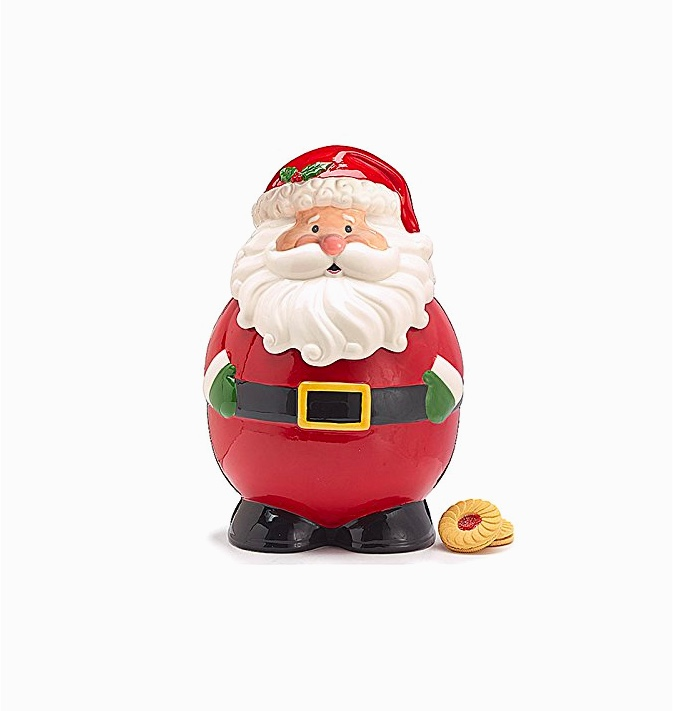 santa-claus-ceramic-holiday-cookie-jars