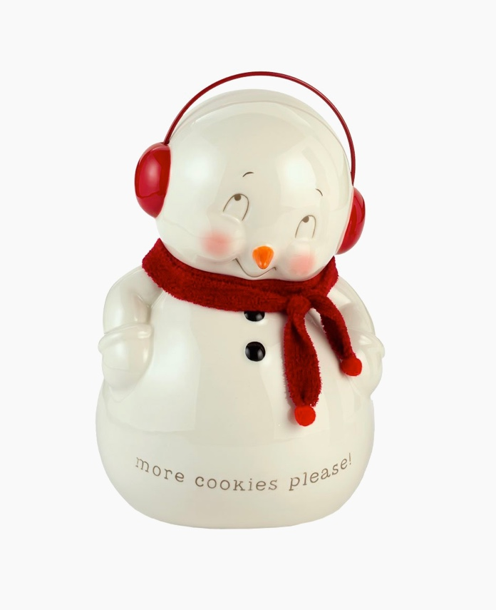 shy-snowman-with-scarf-ceramic-cute-cookie-jars
