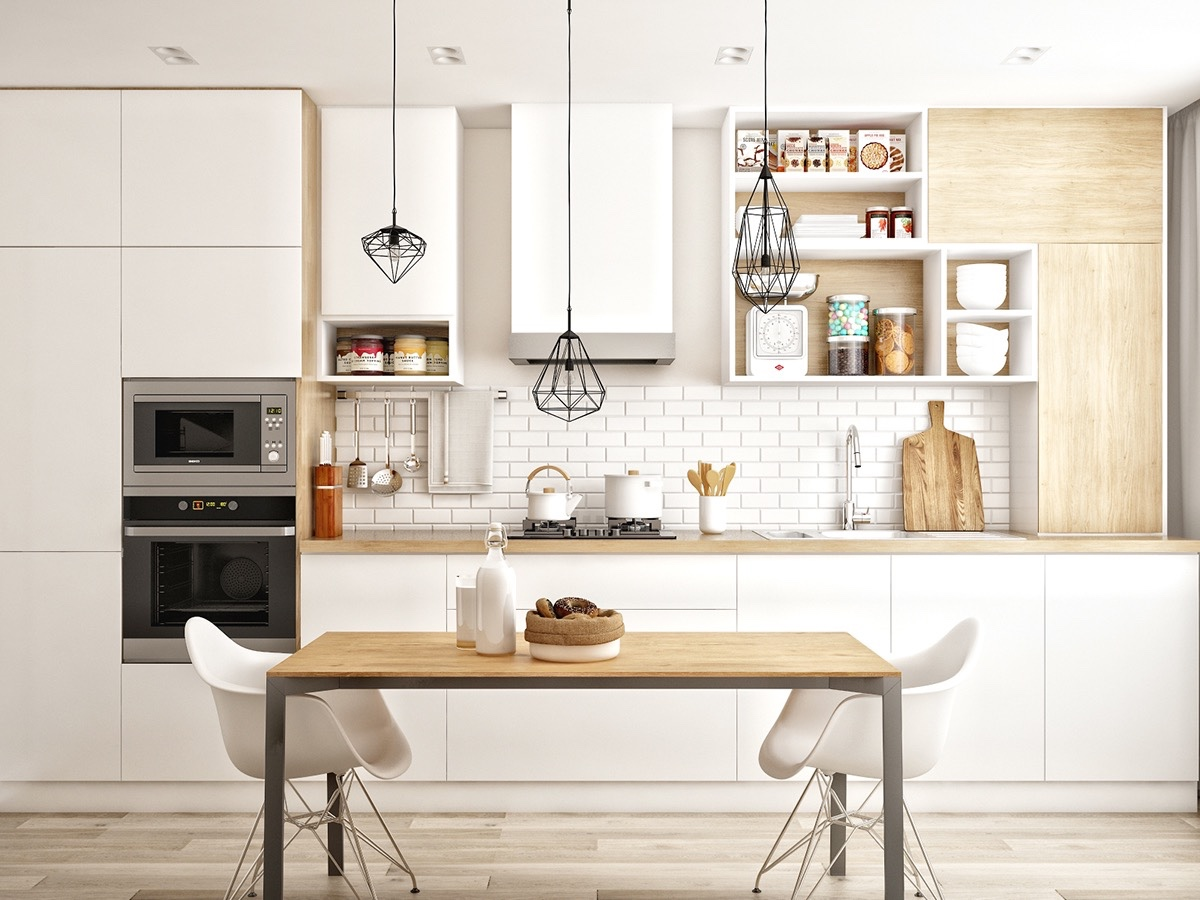 simple-kitchen-white-and-wood-Scandinavian