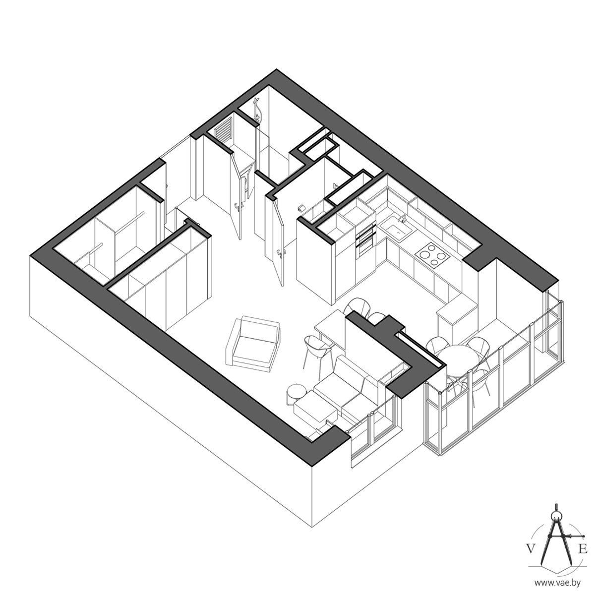 small-apartment-plan - Awesome Decors
