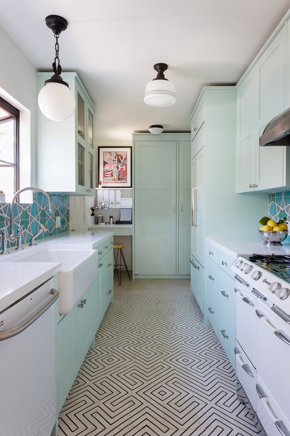 small-galley-kitchen-remodeling - Awesome Decors