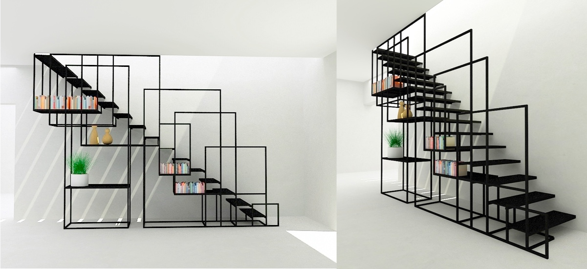 staircase-with-bookshelves