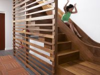 staircase-with-slide