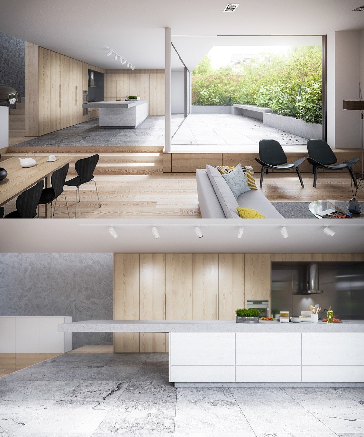 stone-kitchen-in-all-wood-interior