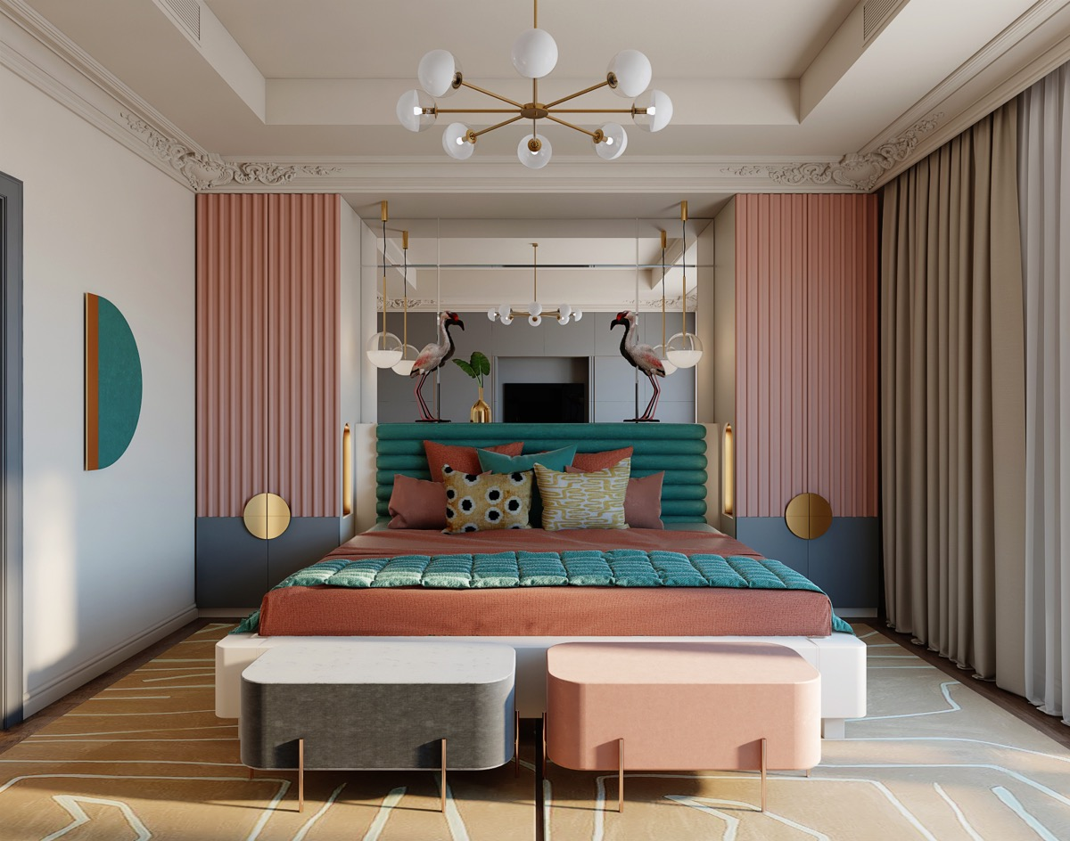 teal-and-pink-bedroom-ideas
