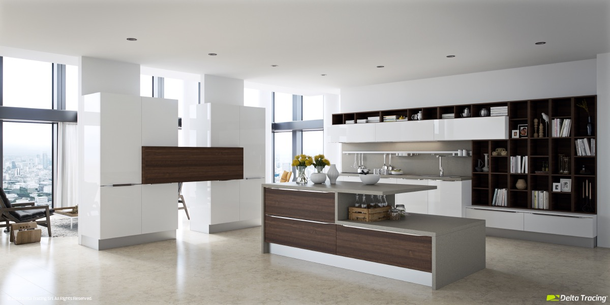 unique-white-kitchen-with-dark-wood