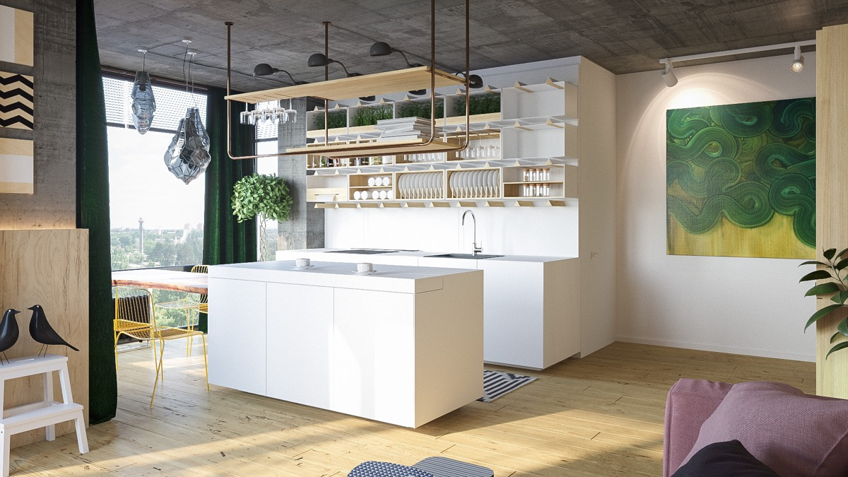 white-block-kitchen-with-open-shelving-modern