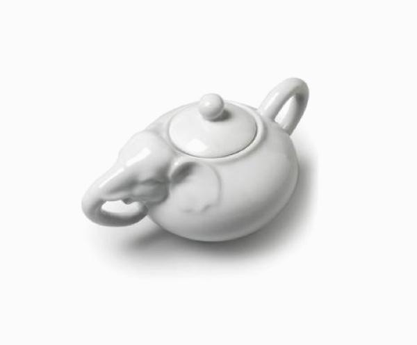 white-elephant-trunk-ceramic-cookie-jar