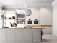 white-kitchen-with-diagonal-cabinetry