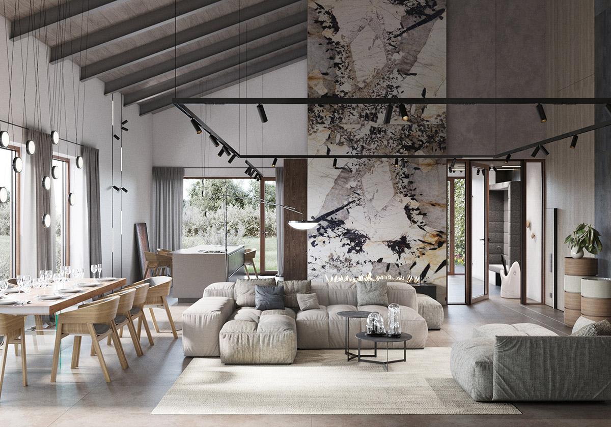 Rustic Modern Interiors And Furniture