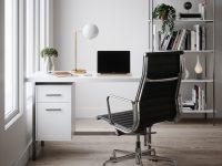 white-modern-desk