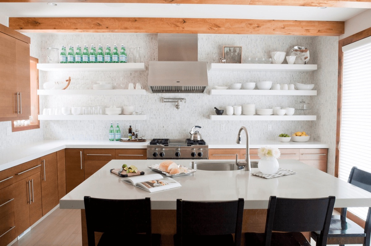 white-open-shelving-with-wooden-frame-unique-kitchen