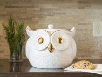 white-owl-with-gold-eyes-and-beak-cute-cookie-jars