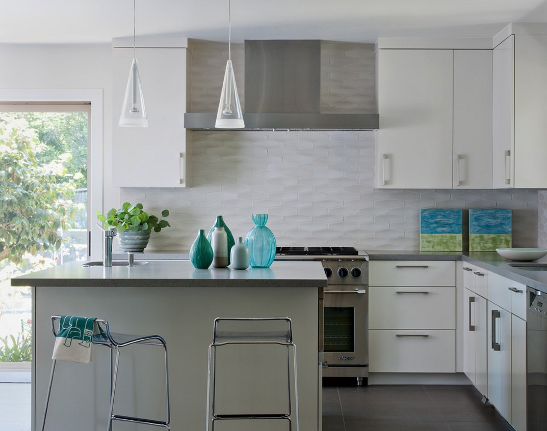 white-textured-subway-tile-backsplash