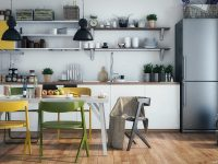 white-yellow-accent-kitchen