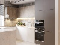 wood-and-grey-white-marble-kitchen