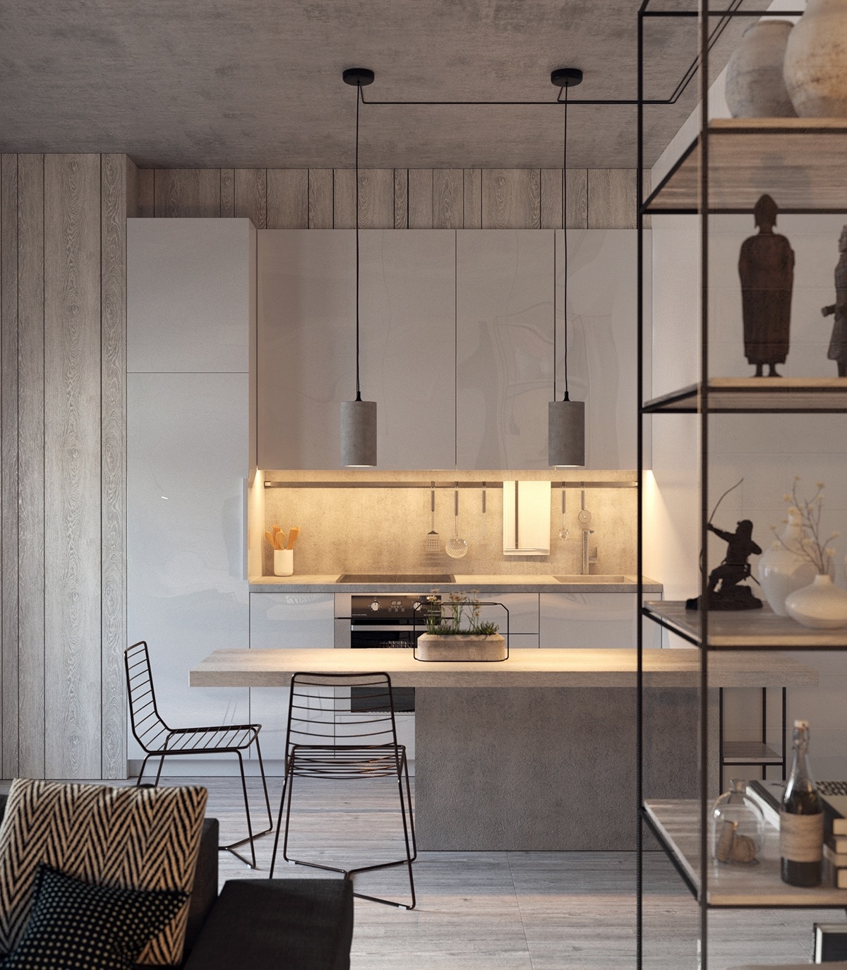 wood-and-light-grey-kitchen-LED-lit-inlet
