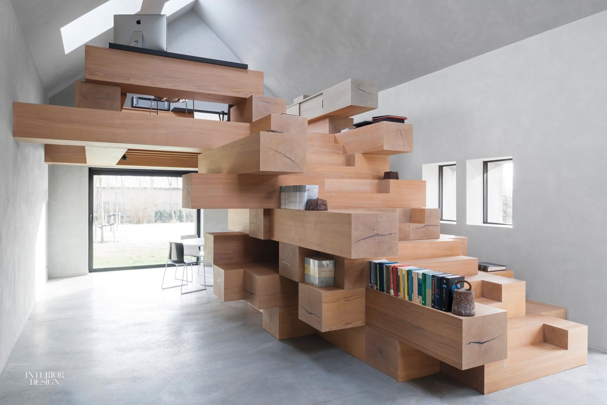 wood-block-staircase