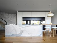 wooden-floor-marble-kitchen