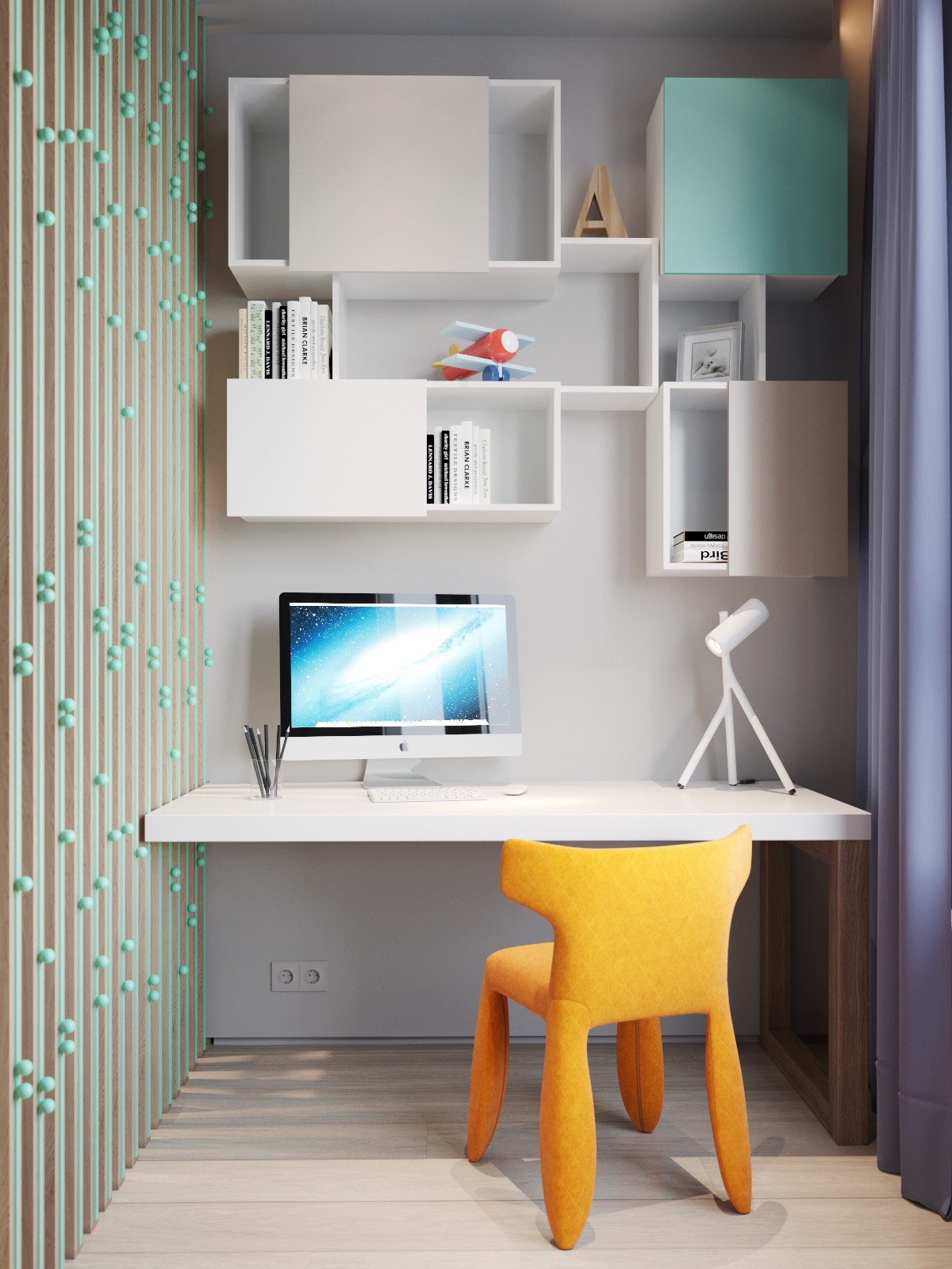 yellow-desk-chair