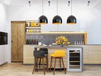 yellow-kitchen-lighting