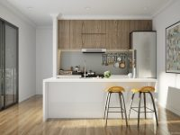 yellow-white-and-wood-kitchen