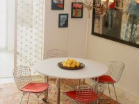Bertoia-Style-Kitchen-Chairs-Armless-Metal-Basket-Chair-Modern-Kitchen-Seating-Ideas