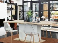 Clear-Acrylic-Kitchen-Chairs-With-Wood-Legs-Cheap-Amazon-Armless-Chairs-Dining