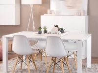 Eames-Style-Kitchen-Chair-With-White-Plastic-Seat-And-Wood-Legs